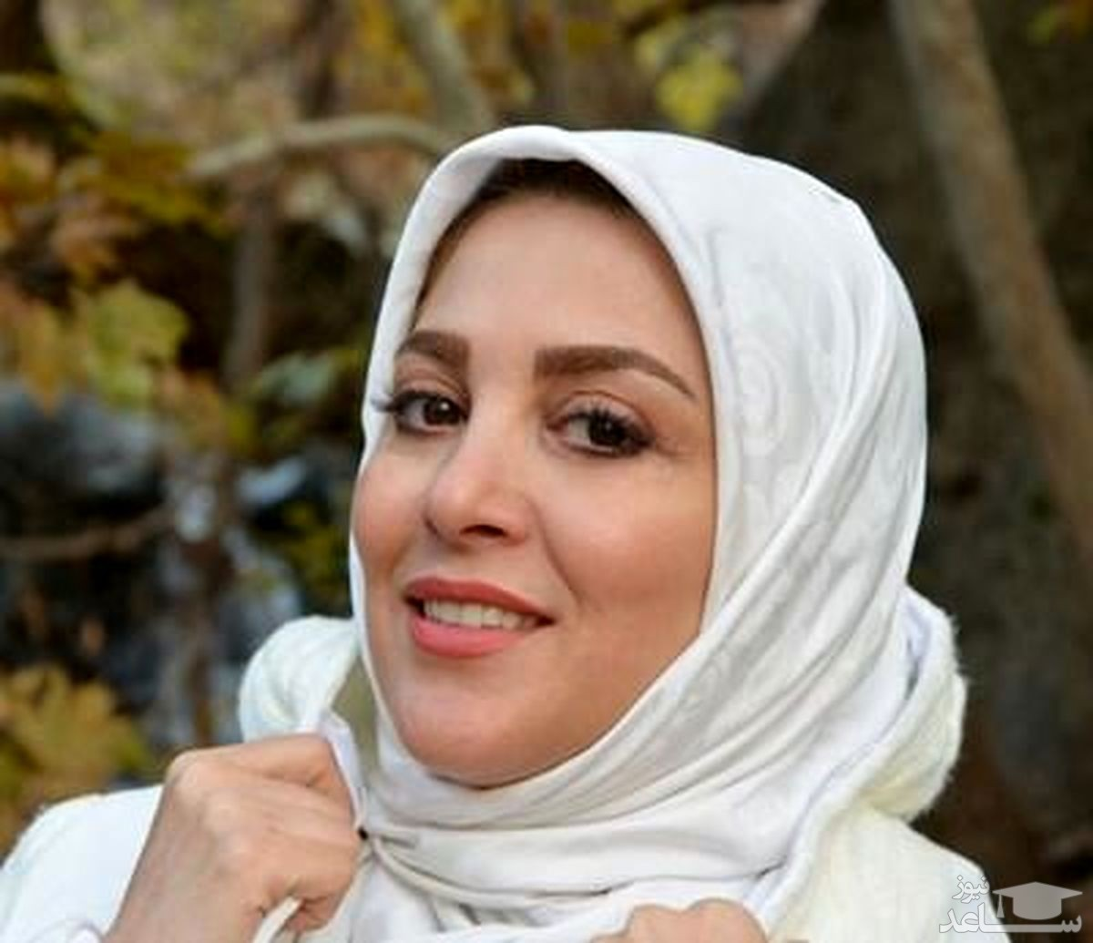 ژیلا صادقی، مجری جنجالی تلویزیون در آغوش همسرش