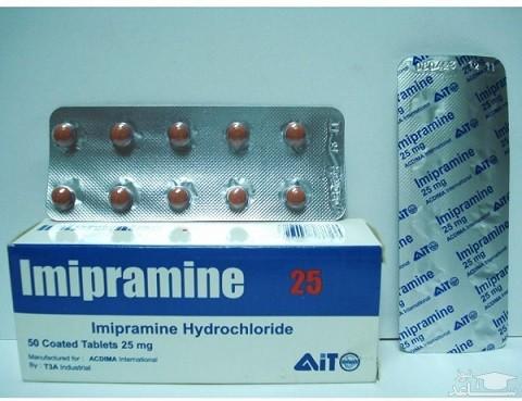 عوارض و موارد مصرف قرص ایمی پرامین (Imipramine)