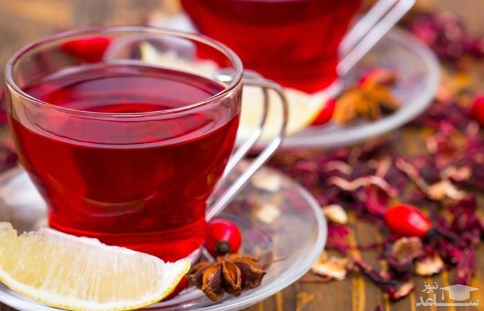 آشنایی با خاصیت درمانی چای ترش