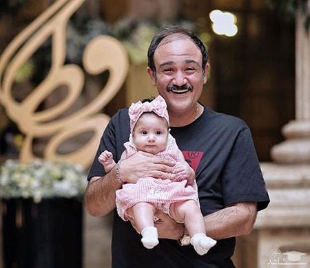 مهران غفوریان در کنار خواننده لوس آنجلسی