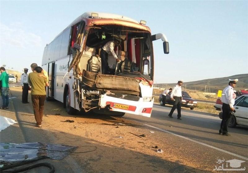 تصادف مرگبار دو اتوبوس زائران ایرانی در عراق