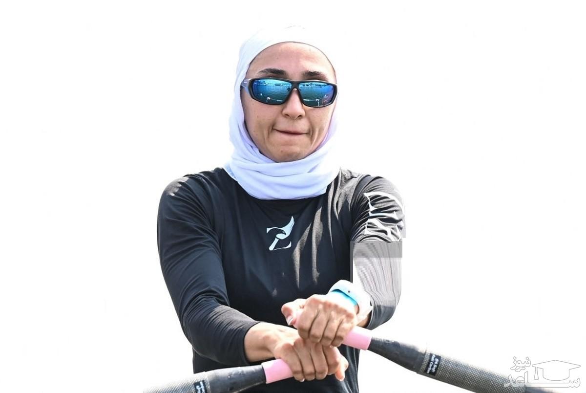 هدیه «توماس باخ» به دختر قایقران ایرانی