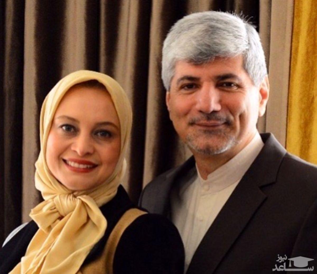 همسر خانم بازیگر کاندیدای ریاست جمهوری شد
