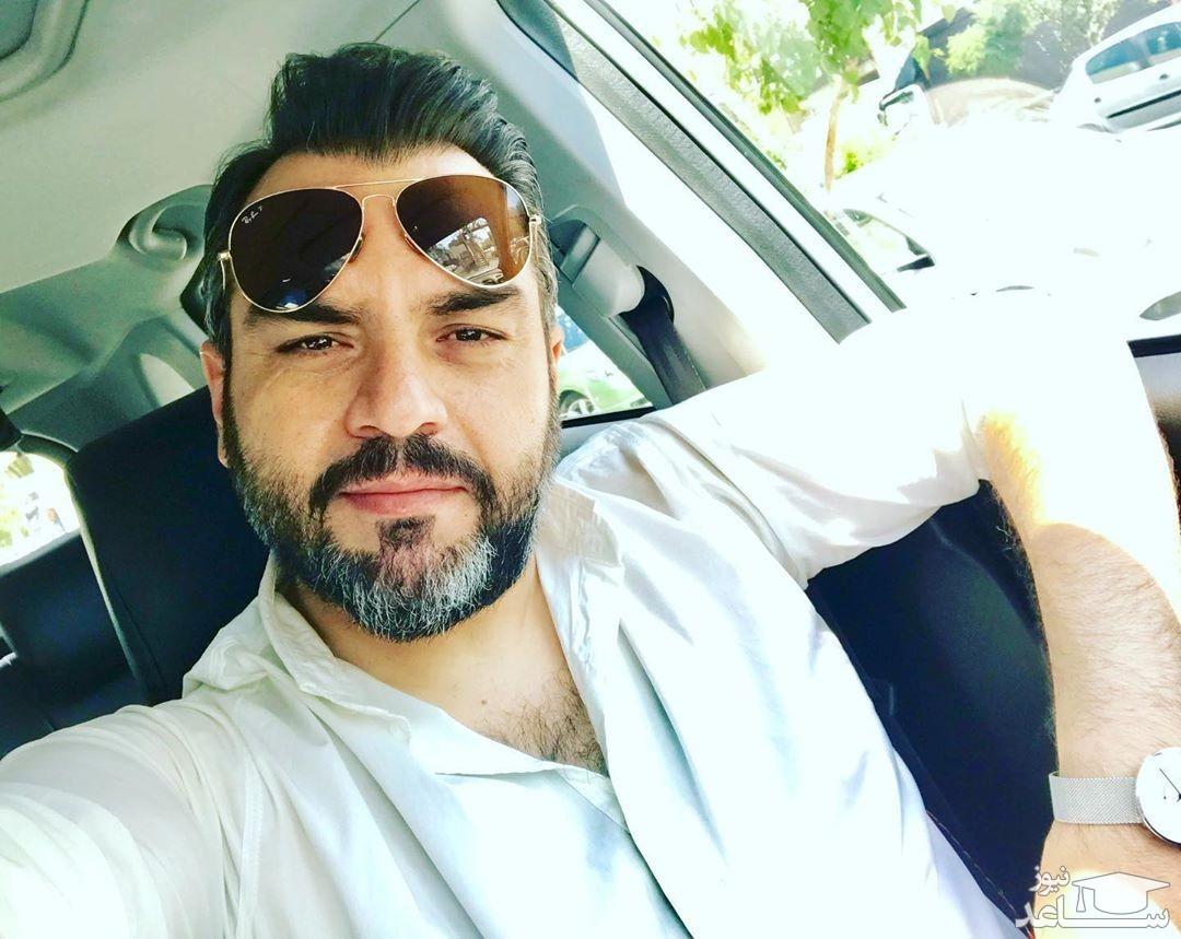 سلفی اخمالوی شهرام قائدی