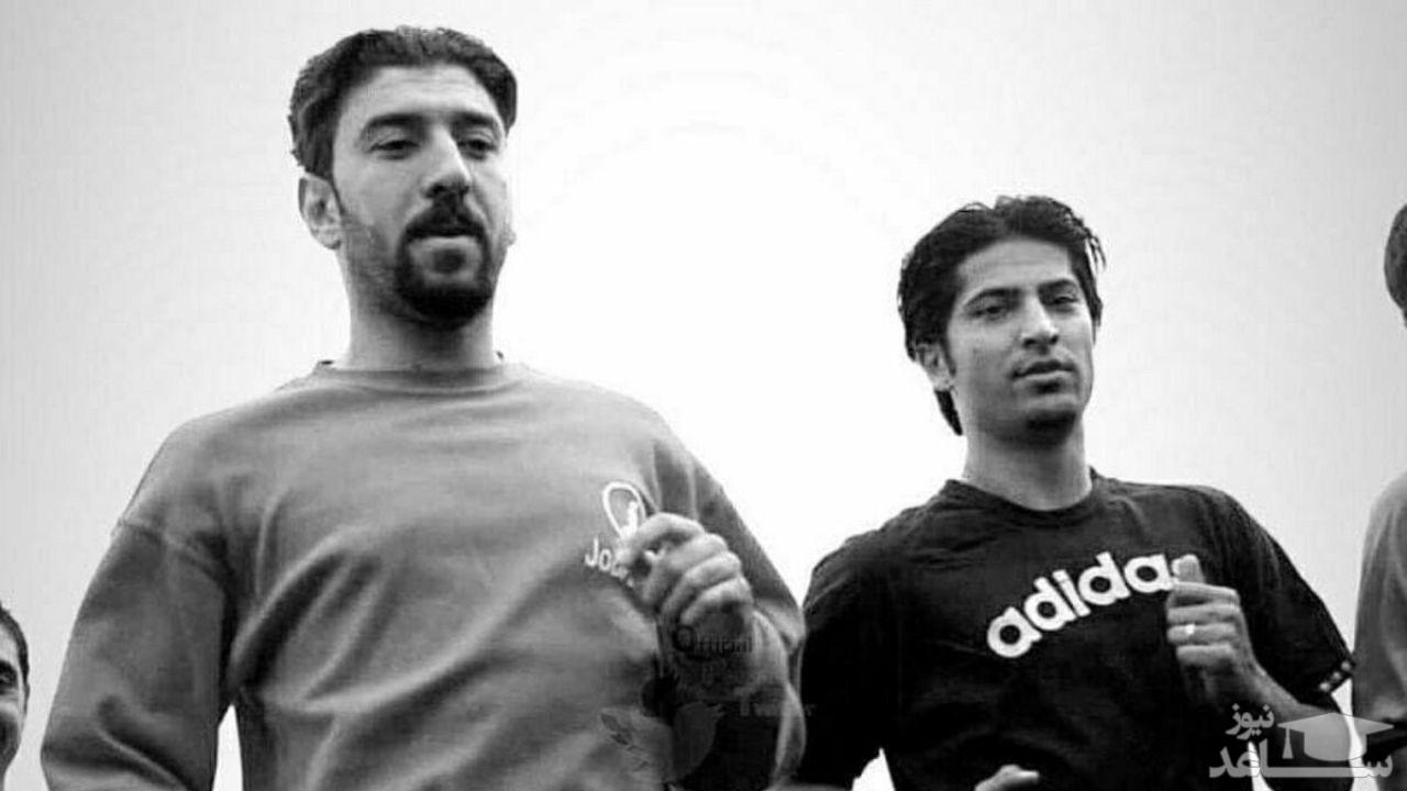 (عکس) رونمایی از پیراهن تیم منتخب سرخابی به یاد زنده یادان مهرداد میناوند و علی انصاریان