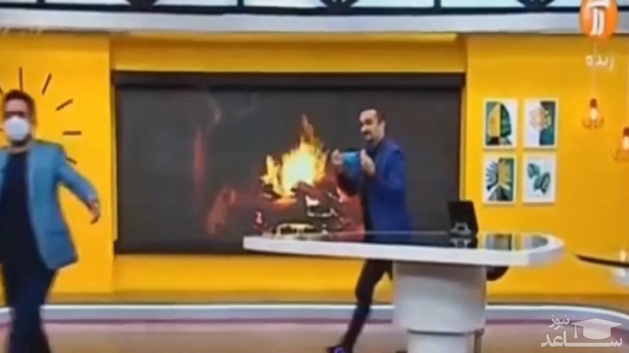 (فیلم) وقتی نیما کرمی در برنامه زنده، تهران را تعطیل میکند!