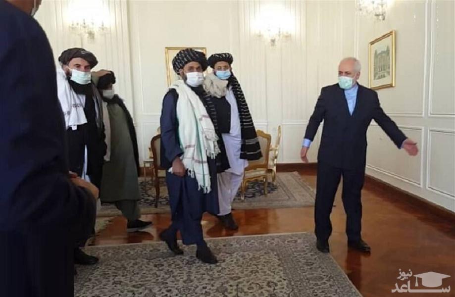 هیئت طالبان با ظریف دیدار کرد
