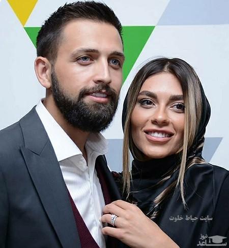 عکس فوق احساسی محسن افشانی و همسرش
