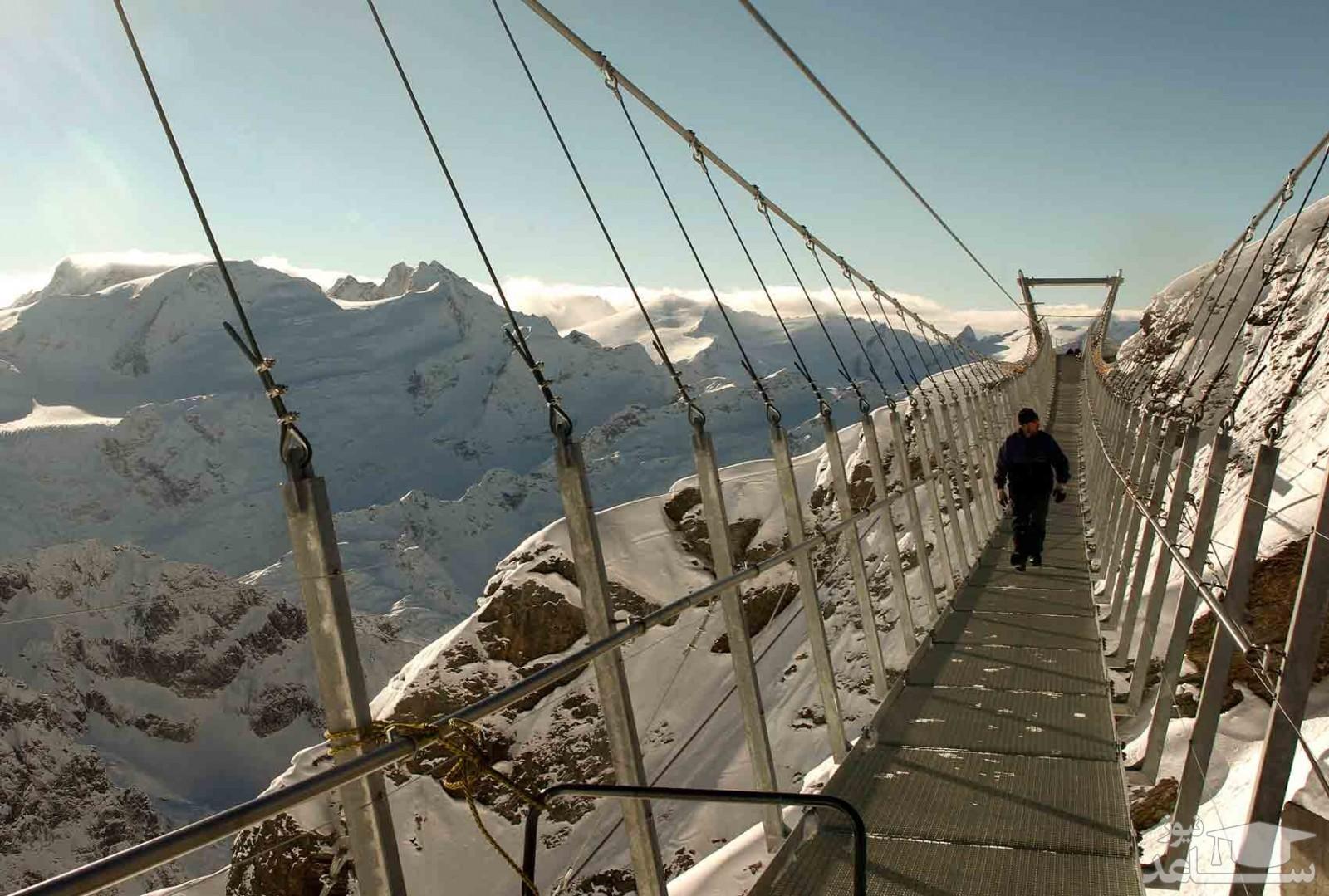 (فیلم) پلی فوق العاده دیدنی و جالب در چین