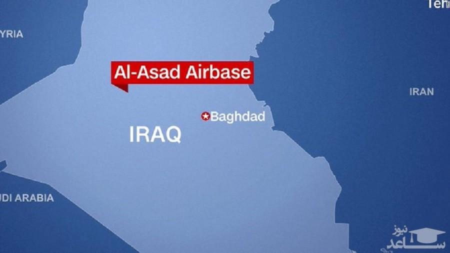 فیلم کامل بمباران پایگاه اسد توسط سپاه به روایت ستاد کل نیروهای مسلح آمریکا