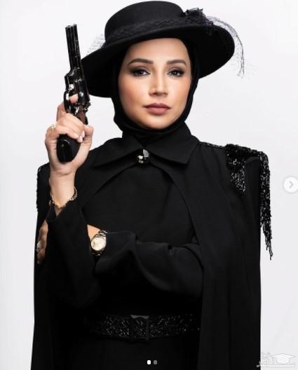 اسلحه به دست شدن شبنم قلی خانی