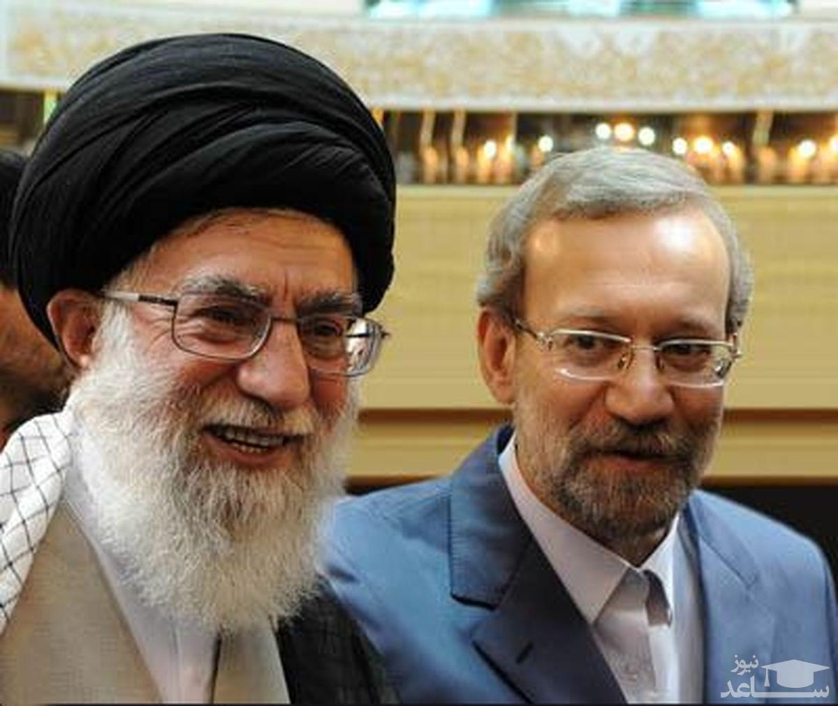 واکنش خاص علی لاریجانی به انتقاد رهبر انقلاب از شورای نگهبان