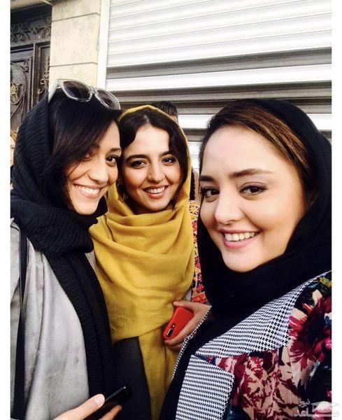 نرگس محمدی و خواهرش