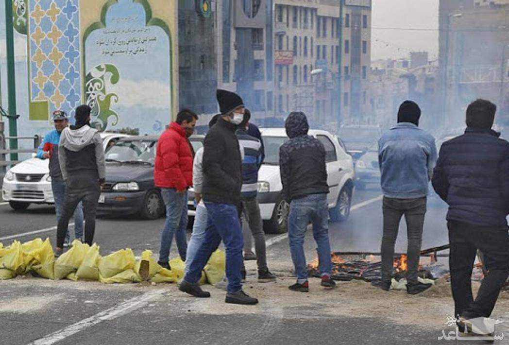 تعدا کشته های حوادث آبان در ایران 230 نفر اعلام شد