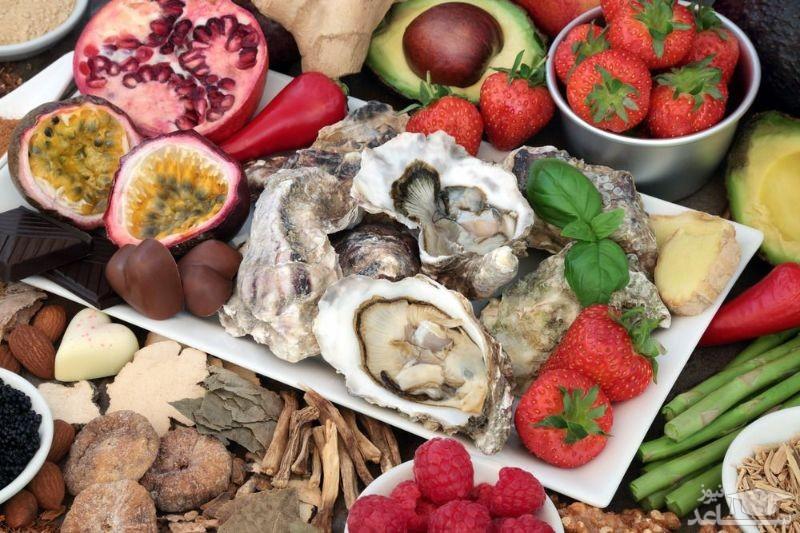 خوراکی های مفید و مضر برای میل جنسی