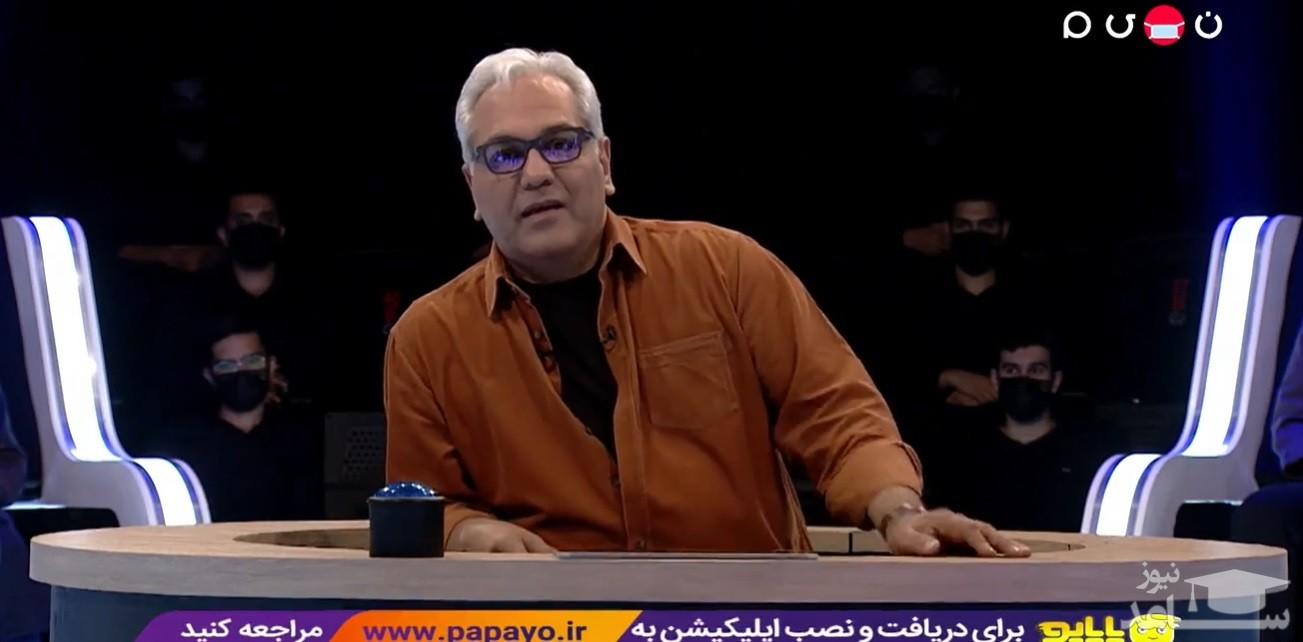 (فیلم) تعجب مهران مدیری از اطلاعات بالای یک شرکتکننده