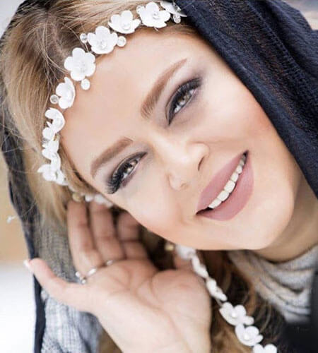 بهاره رهنما در کنار علی برقی عزیز