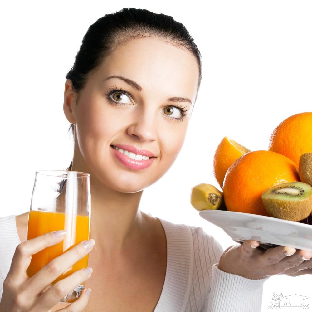 برای شادابی پوست چه بخوریم؟