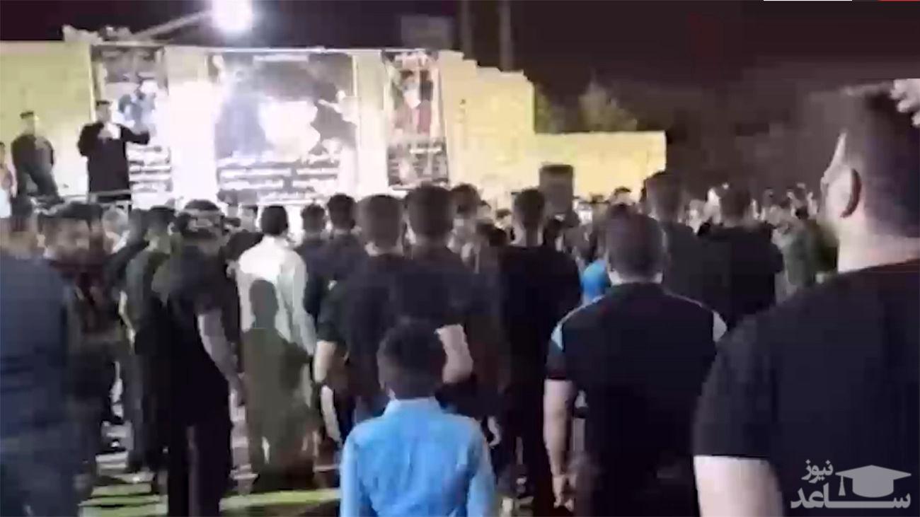 تیراندازی در مراسم خاکسپاری نوجوان اینستاگرامی آبادان +فیلم