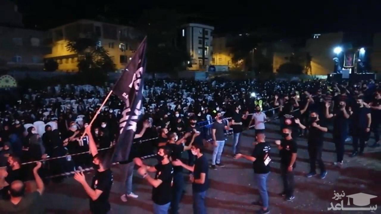 (فیلم) عزاداری باشکوه شهروندان ترکیهای در شب تاسوعای حسینی