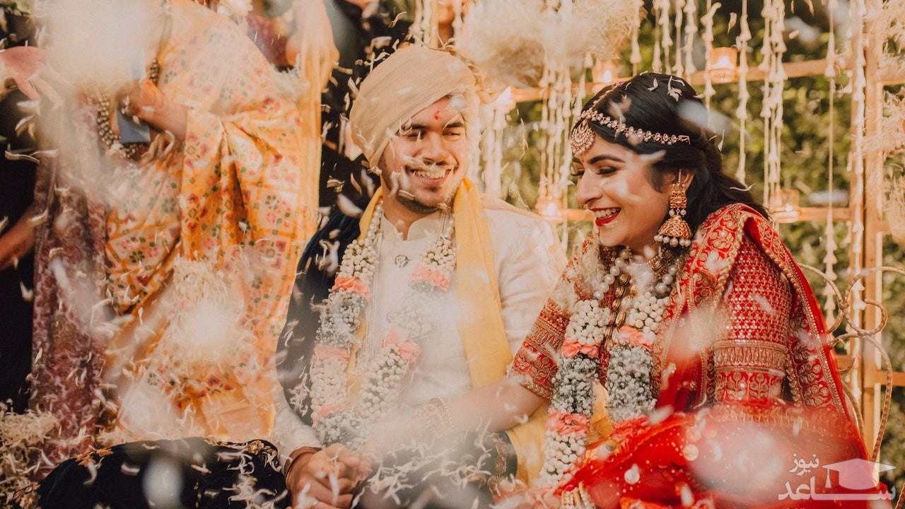 فرار عروس با جواهرات با دست به سر کردن داماد!