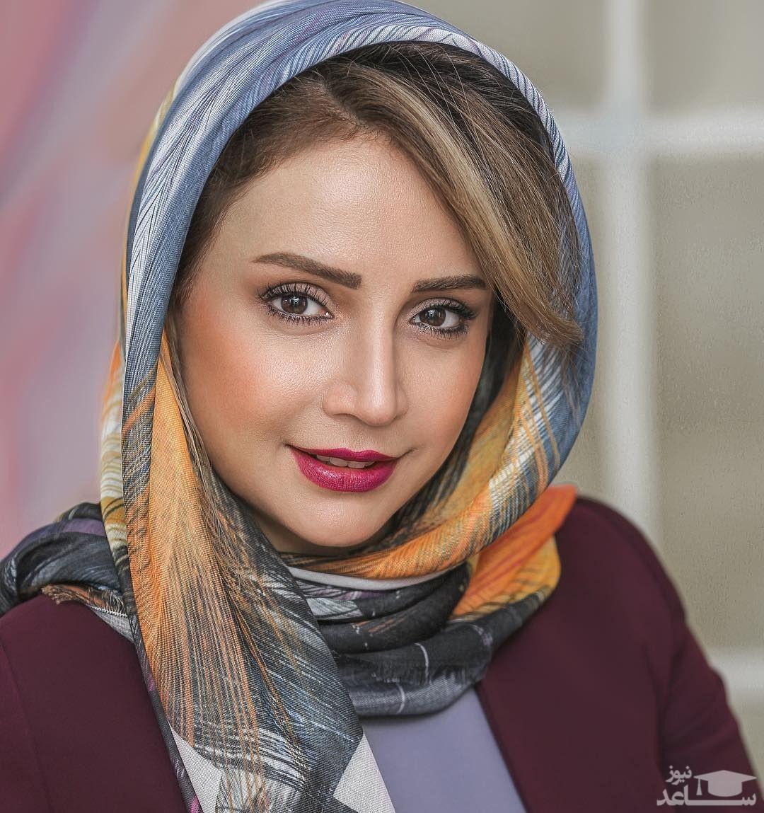 عکس یادگاری «شبنم قلی خانی» با مادر مهربان سینما و تلویزیون