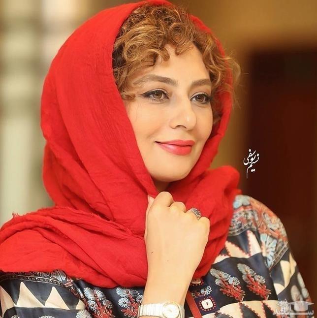 یکتا ناصر و همسرش منوچهر هادی در پشت صحنه سریال دل