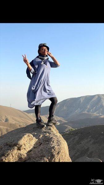 کوهنوردی شبنم فرشادجو