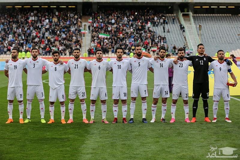 فهرست اصلی تیم ملی فوتبال ایران برای جام ملت های آسیا مشخص شد