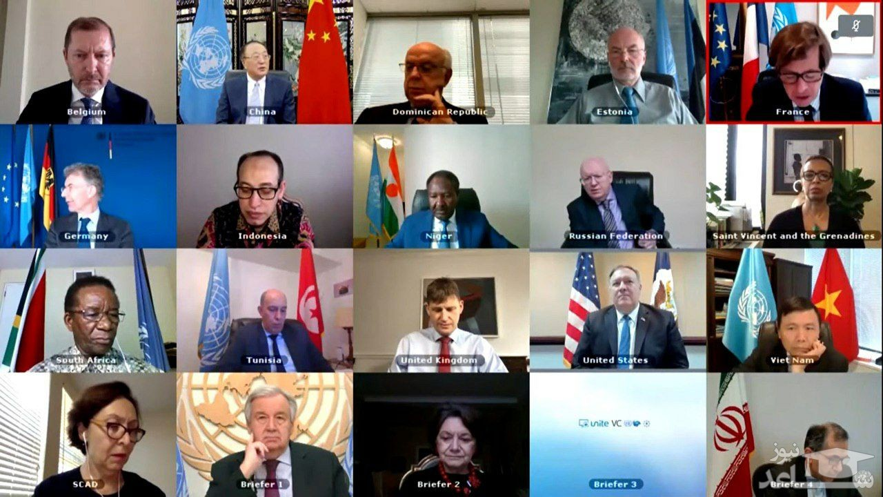 لحظه شکست تاریخی آمریکا در شورای امنیت در تصویب قطعنانه ضد ایرانی!