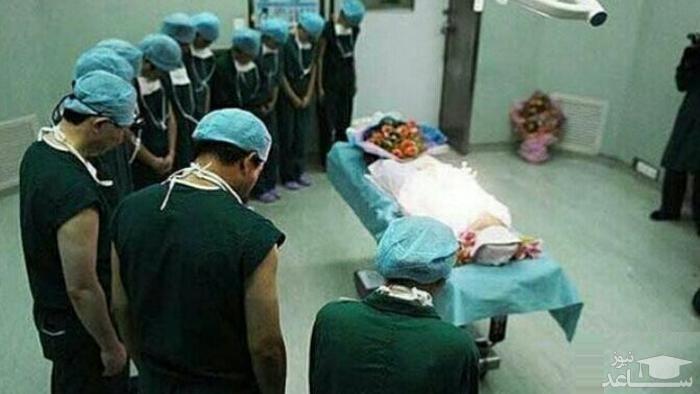 تعظیم پزشکان بوشهری داخل اتاق عمل در شب عاشورا خبر ساز شد + عکس