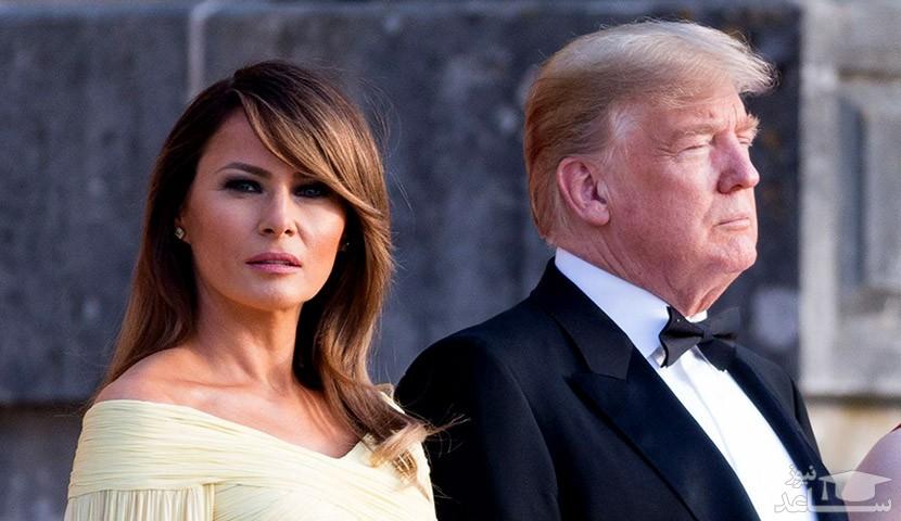 اتاق خواب ملانیا ترامپ و همسرش حاشیه ساز شد