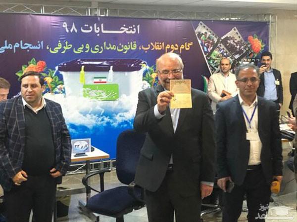 قالیباف، رسما کاندیدای انتخابات مجلس شد