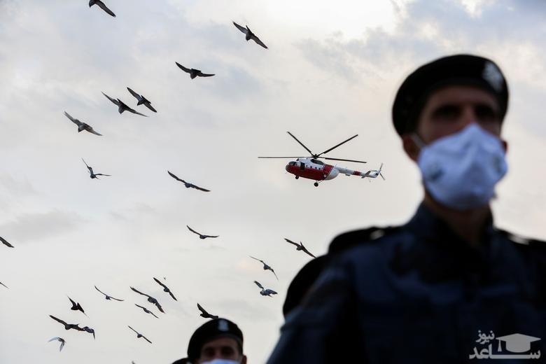 مراسم ویژه روز پلیس در شهر طرابلس لیبی/ رویترز