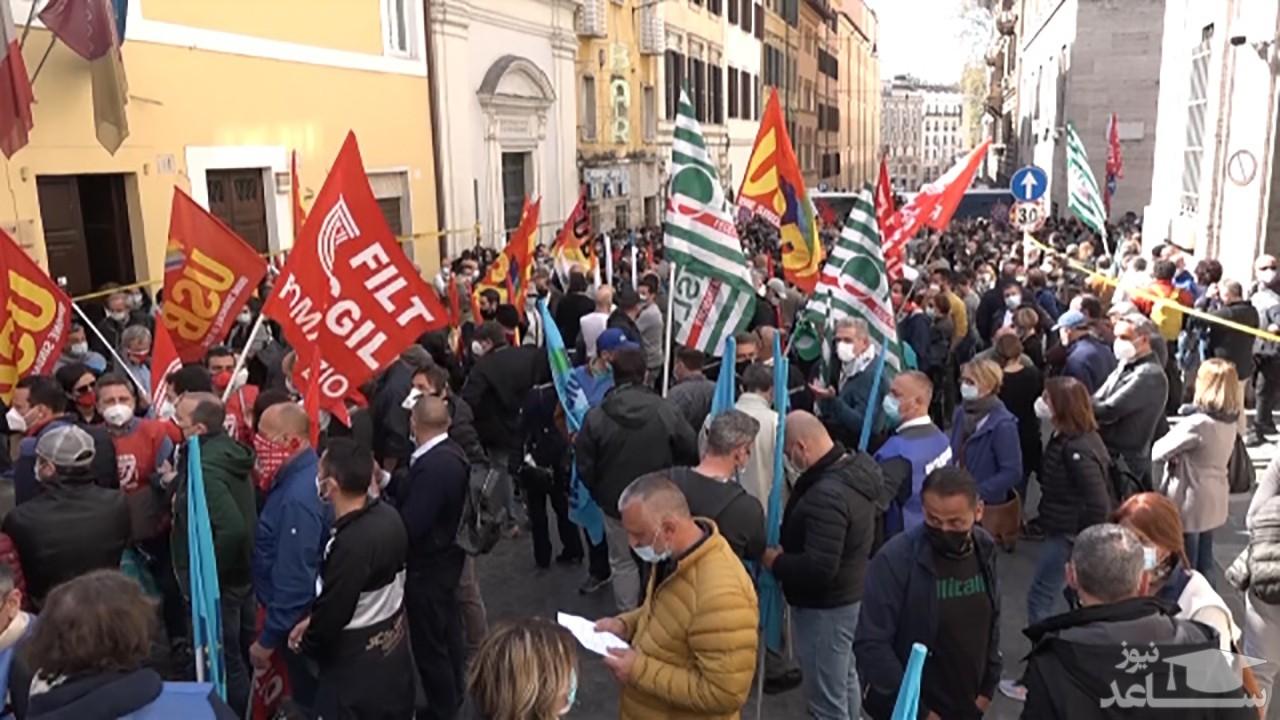 شرکتهای ایتالیایی در معرض ورشکستگی در اثر کرونا + فیلم