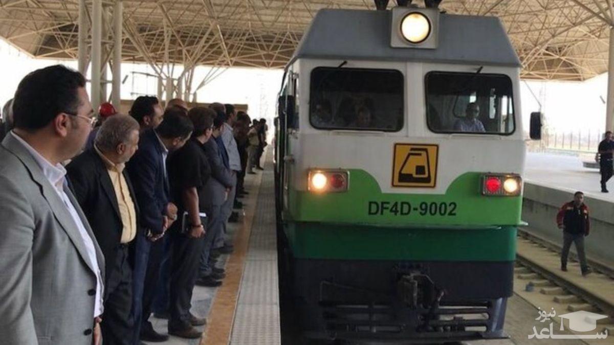 مرگ یک نفر بر اثر برخورد قطار متروی تهران-کرج