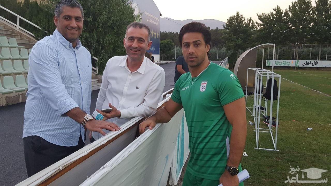 پاگشای فرهاد مجیدی و فراز کمالوند در باشگاه استقلال!