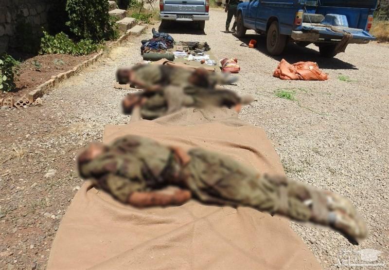 انهدام تیم تروریستی ضد انقلاب در کردستان