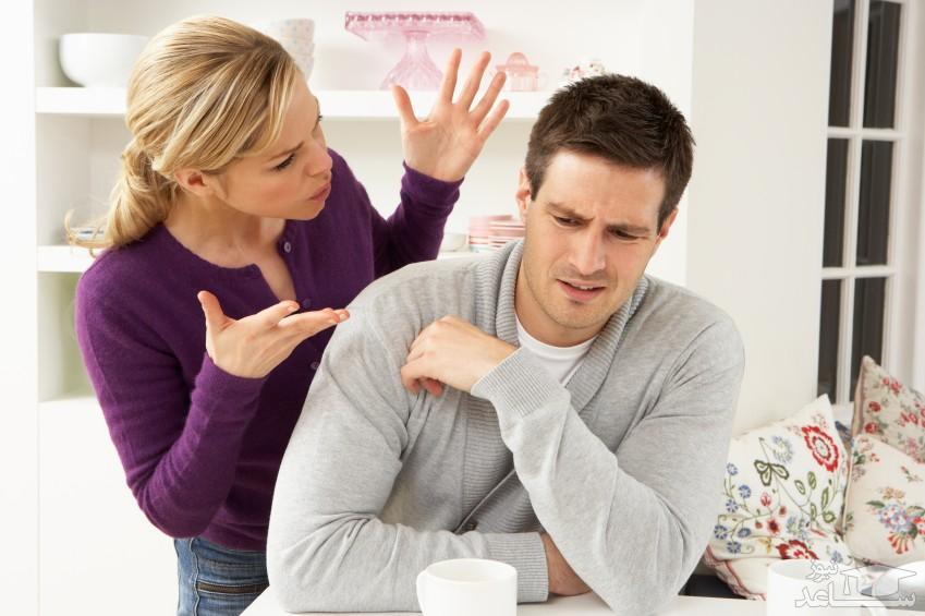 با زن عصبی و بد اخلاق چگونه رفتار کنیم؟
