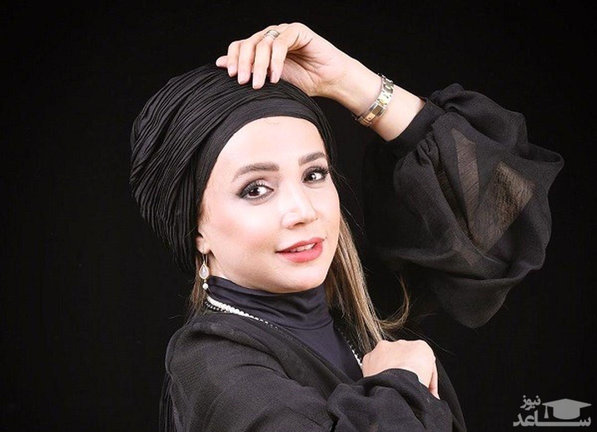 حال خوش شبنم قلی خانی در ویلای لاکچریشان