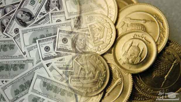 قیمت دلار ، سکه و طلا امروز 12 اسفند 97 ، یکشنبه 97/12/12 + جدول