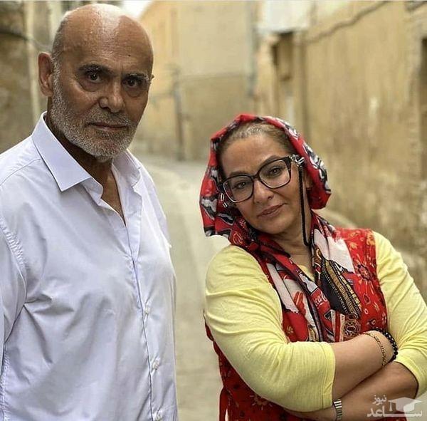 لاله صبوری و جمشید هاشم پور