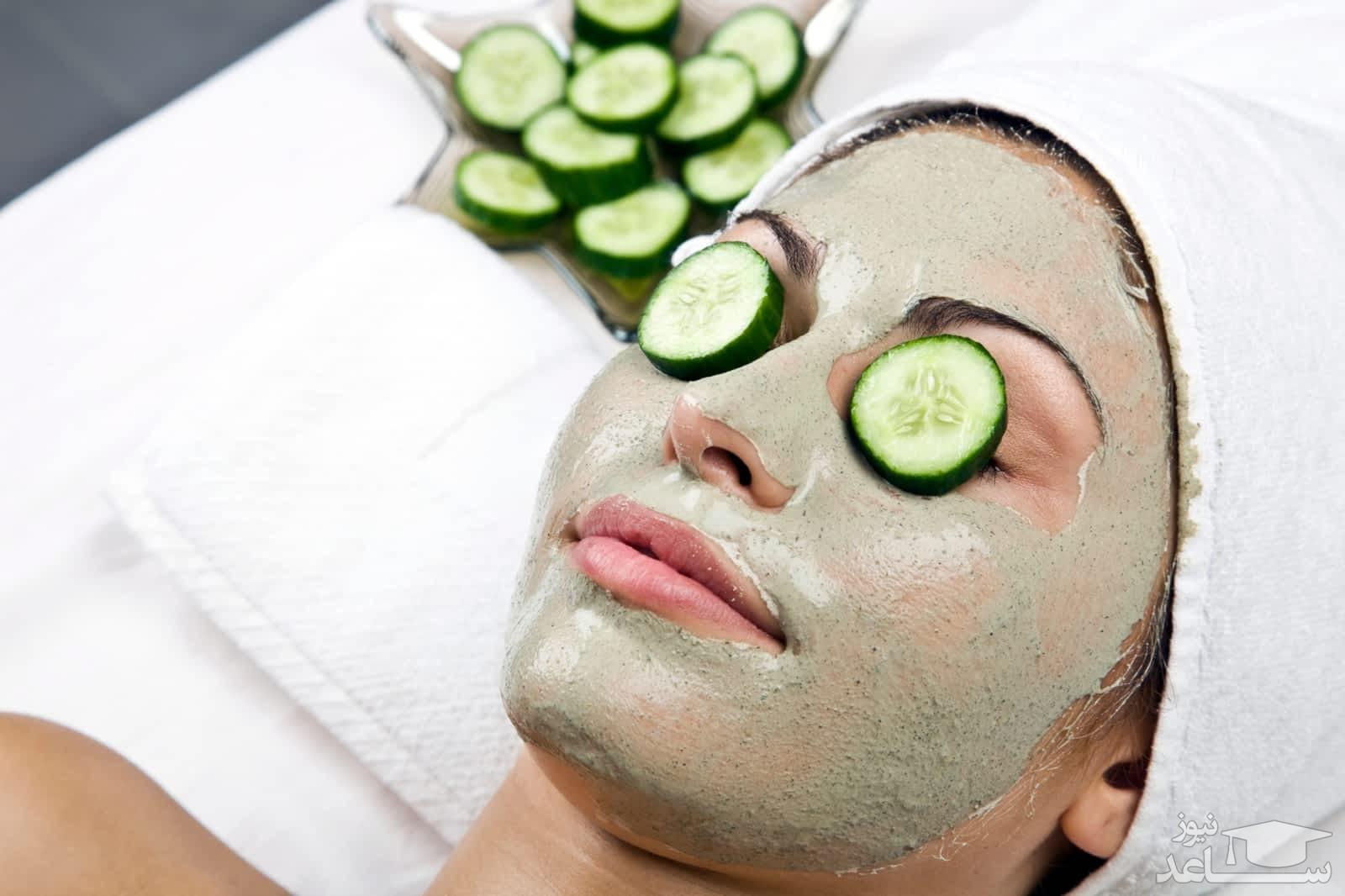 مراقبت از پوست با ماسک خیار !