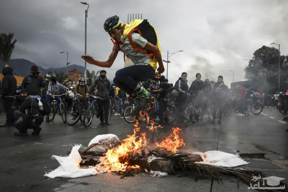 اعتراضات ضد دولتی در  کلمبیا