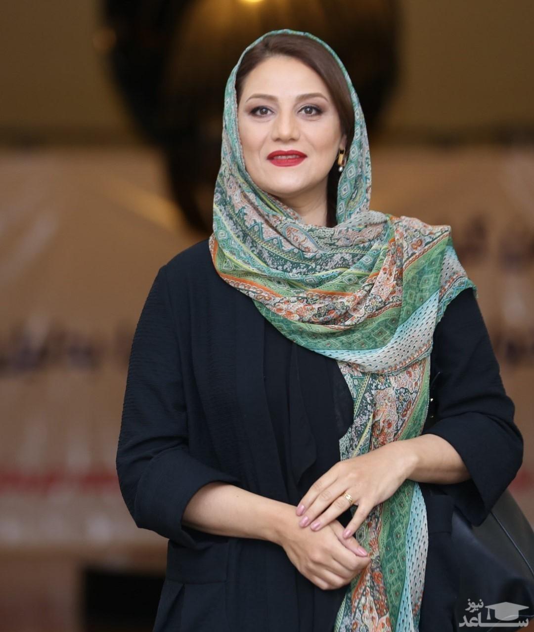 شبنم مقدمی در کنار دوستان بازیگرش
