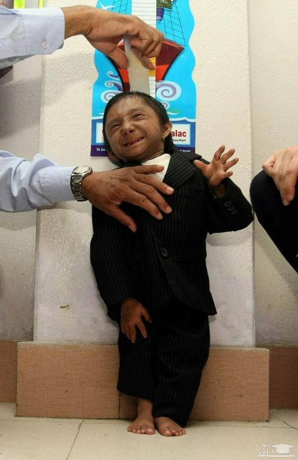 (فیلم) کوتاهقدترین مرد جهان درگذشت