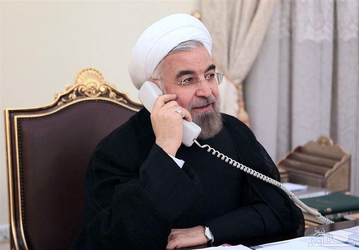 روحانی خطاب به رئیس جمهور فرانسه: تنها راه حفظ برجام لغو تحریمهای آمریکاست