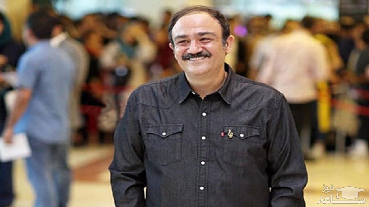 عیادت مدیرکل روابط عمومی صداوسیما از مهران غفوریان