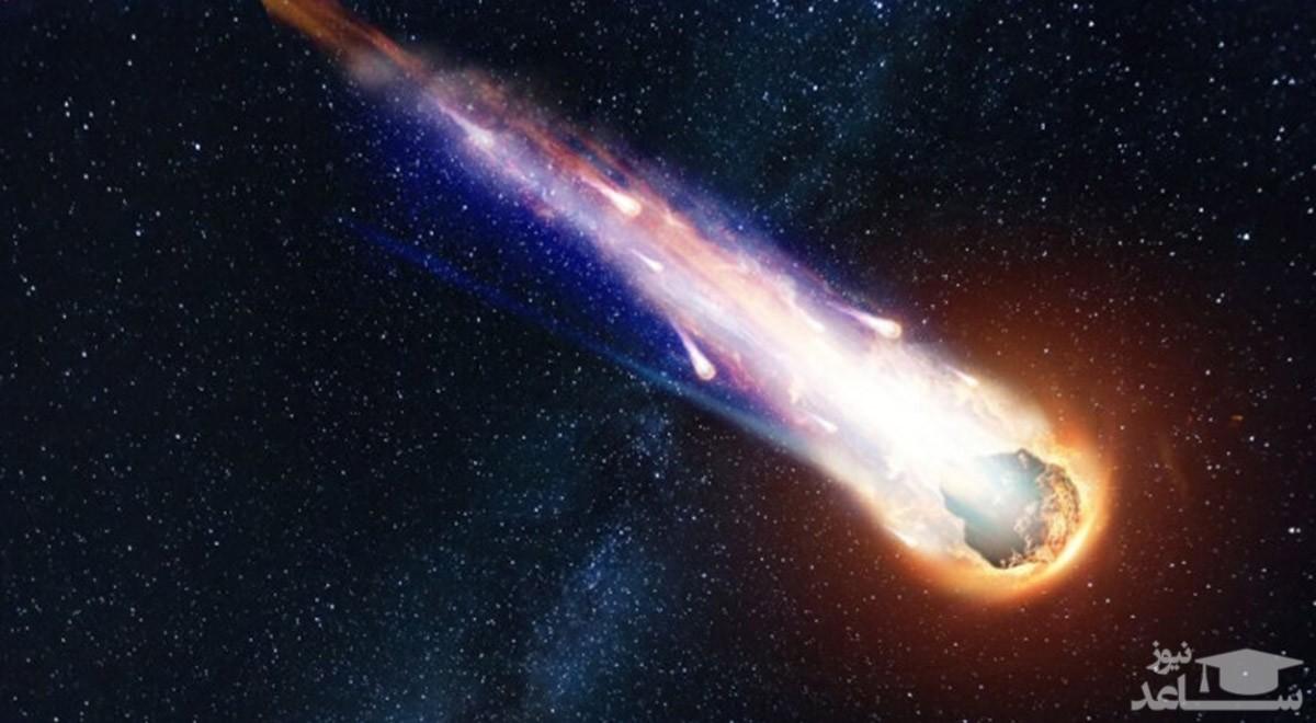 (عکس) شهاب سنگ واقعی این شکلی است