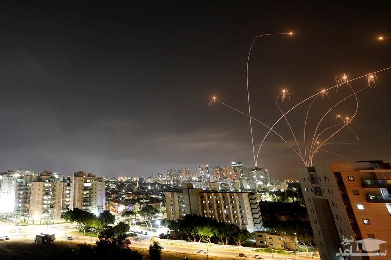 پاسخ ضد موشکی اسرائیل